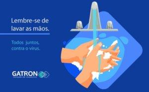 Higienizar as mãos pode salvar vidas!